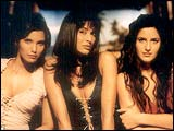 Padma Lakshmi, Madhu Sapre and Katrina Kaif in Boom