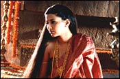 Sonali Bendre in a scene from 'Anaahat'