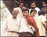 GVR Naidu and Dev Anand