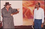 Dev Anand and GVR Naidu