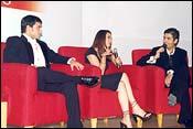 Saif, Preity and Karan Johar