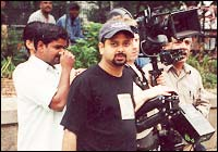 Nikhil Advani on location in New York