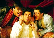 Vivek Oberoi, Ritesh Deshmukh and Aftab Shivdasani in Masti