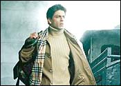 Shah Rukh Khan plays Ram Prasad Sharma in Main Hoon Na