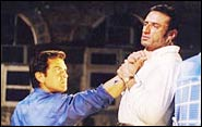 Bobby Deol and  Rahul Dev in Bardaasht