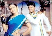 Trisha and Vijay in Gilli