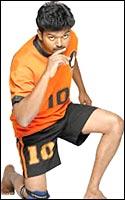 Vijay sets off on a kabaddi raid in Gilli