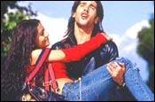 Zayed Khan, Amrita Rao in Main Hoon Na