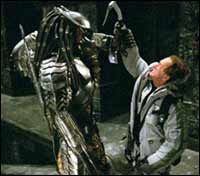 A still from Alien vs Predator