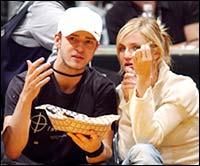 Justin Timberlake and Cameron Dias