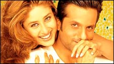Kareena, Fardeen in Fida