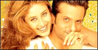 Kareena Kapoor, Fardeen Khan in Fida