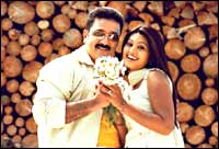 Kamal Haasan and Sneha in Vasool Raja MBBS