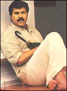 Mammootty in Kaazhcha