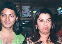 Shirish Kunder and Farha Khan