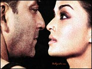 Sanjay Dutt and Aishwarya Rai in Shabd