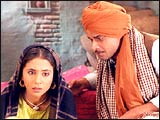 Urmila Matondkar and Manoj Bajpai in Pinjar