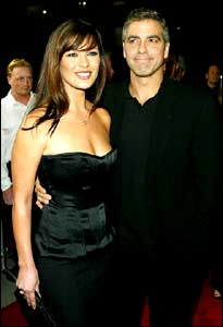 Catherine Zeta-Jones and George Clooney