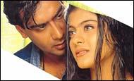 Ajay Devgan, Kajol in Pyar To Hona Hi Tha