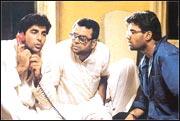 Akshay Kumar, Paresh Rawal and Suniel Shetty