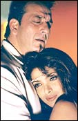 Sanjay Dutt and Priyanka Chopra in Plan
