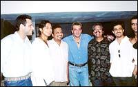 Bikram Saluja, Dino Morea, Sanjay Gupta, Sanjay Dutt, Hriday Shetty, Sanjay Suri