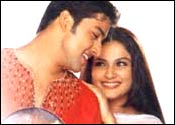 Aftab Shivdasani and Gracy Singh in Muskaan