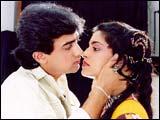 Aamir Khan, Juhi Chawla in QSQT