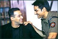 Salman and Arbaaz Khan in Garv: Pride & Honour