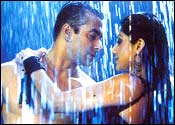 Salman Khan and Shilpa Shetty in Garv