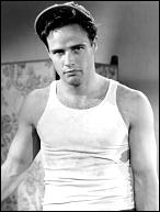 As Stanley Kowalski in A Streetcar Named Desire