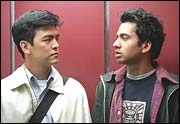 John Cho and Kal Penn in Harold And Kumar Go To White Castle