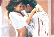 Rimi Sen and Abhishek Bachchan