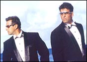 Salman Khan and Akshay Kumar in Mujhse Shaadi Karogi