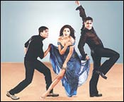 Akshay Kumar, Priyanka Chopra and Salman Khan in MSK