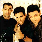 Akshaye Khanna, Saif Ali Khan and Aamir Khan in Dil Chahta Hai