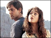 Hrithik Roshan and Preity Zinta in Lakshya