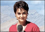 Preity Zinta in Lakshya