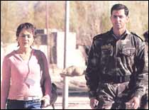 Preity Zinta and Hrithik Roshan in Lakshya