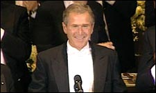 US President George Bush in Fahrenheit 9/11