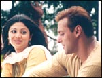 Shilpa Shetty and Salman Khan in Phir Milenge