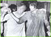 Raj Kapoor and Amitabh Bachchan