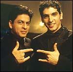 Shah Rukh Khan and Zayed Khan