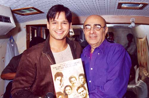 Vivek Oberoi and Kishore Namit Kapoor