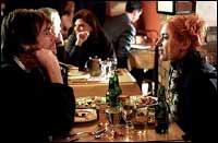 Jim Carrey and Kate Winslet in Eternal Sunshine...