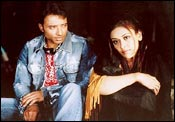 Uday Chopra and Hrishitaa Bhatt in Charas