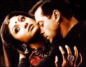 Shilpa Shetty and Salman Khan in Garv