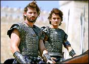 Eric Bana and Orlando Bloom play Hector and Paris in Troy