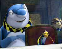 A still from Shark Tale