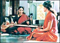 Shabana Azmi and Perizaad Zorabian in Morning Raga
